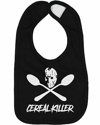 Cereal Killer Jason Voorhees Baby Bib