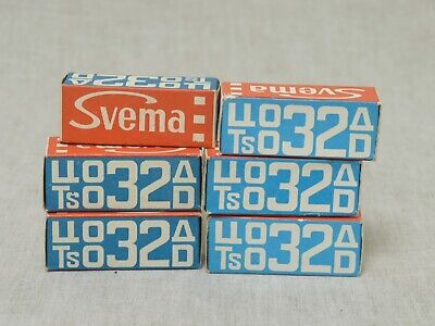 Color reversal CO-32d roll film, 120 print, 6 pcs,Svema, expired, lomography
