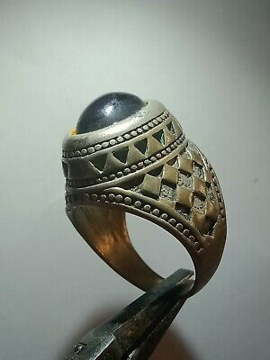 Ancient Rare Ring Roman Silver Color Legionary Old Extremely Authentic Artifact