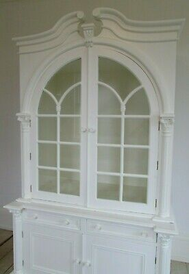 Vintage Wardrobe Armoire Oka Style Painted Cabinet Cupboard  Farrow & Ball Paint