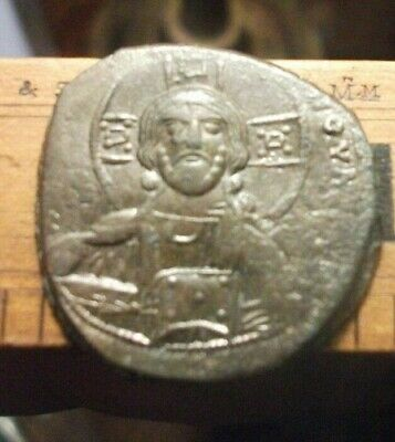 JESUS CHRIST Class A2 Anonymous Ancient 976AD Byzantine Follis Coin