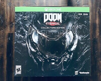 Doom Eternal Collectors Edition For Xbox One-  In Hand - Fast Shipping