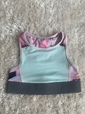 Girls River Riactive Sprts Crop Top Age 5-6