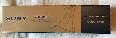 Sony VCT-R100 Camera Tripod - New In Box * Never Used