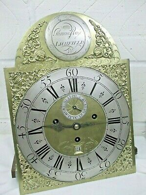 3 TRAIN LONGCASE circa 1800. by ROSE of LITCHFIELD with SONNERY STRIKE..........