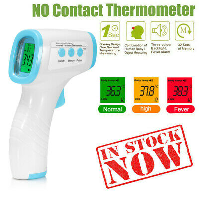 Digital IR Thermometer Medical Body Baby Infrared Accurate Forehead Infrared CA