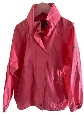 Girls Pink Regatta Waterproof  Light Weight Coat Age 7-8
