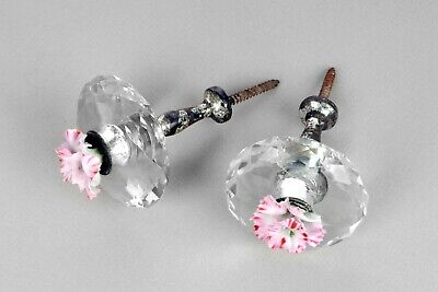 Vintage Faceted Glass Curtain Tie Backs