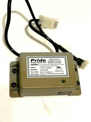 24 Volt 3.0 Amp A24040PIH On-Board Battery Charger for Jet & Jazzy Power Chairs