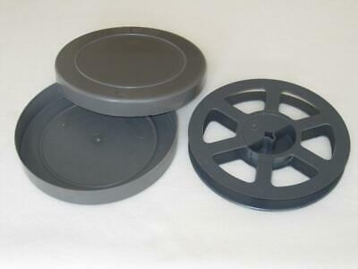 16mm 400 ft  Archival Film Can with Plastic Reel