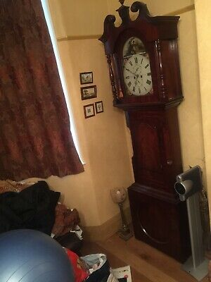 Longcase Clock Lockwood & Cooke Huddersfield Fully Working