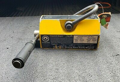 MAG-MATE PowerLift 1600 lbs. Capacity RARE EARTH LIFTING MAGNET #PNL1600