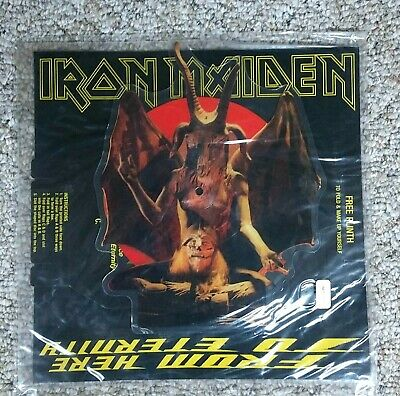 Iron Maiden From Herer to Eternity Picture Vinyl NEW import