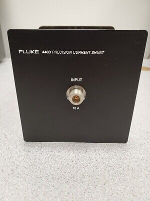 Fluke A40B Current Shunt. 10A/0.8V for 5790A & other calibrator for calibration