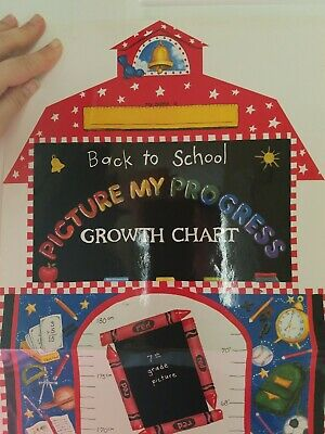 Back To School Growth Chart - Mc Lean Designs - Glossy Cardstock