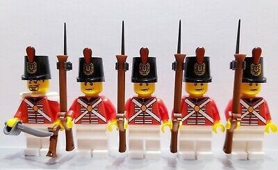 Lego PIRATES AMERICAN REVOLUTION CONTINENTAL Infantry Soldiers MINIFIGS
