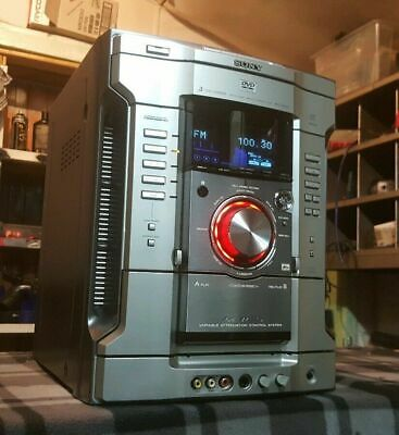 Sony Hifi Stereo System Unit Amplifier/Aux/Radio/7800 Watts Output