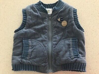 Baby world boys toddler vest size 1