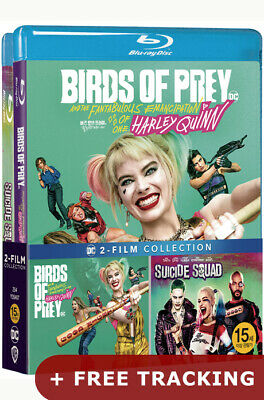 (Presale) Birds Of Prey: Harley Quinn + Suicide Squad .Blu-ray Double Pack