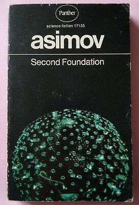 Second Foundation Isaac Asimov paperback book science fiction Panther 1972 ed