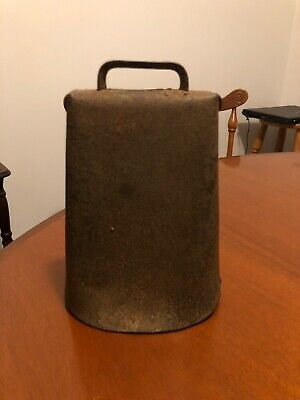 Large Vintage Cow Bell Original Donger.