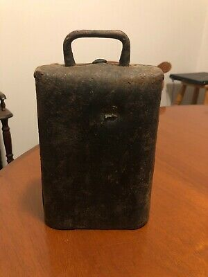 Large Vintage Blacksmith Made Cow Bell.