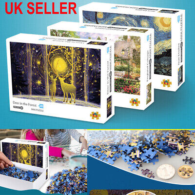 1000PCS Jigsaw Puzzle Landscapes Decompression Game Toy Difficulty 42X30CM Adult