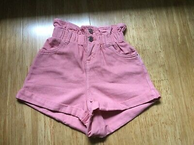 Brand New Seed Girls Pink Shorts Size 8