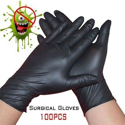 100pcs Rubber Labor Glove Disposable Waterproof Home Garden Work Cleaning Gloves