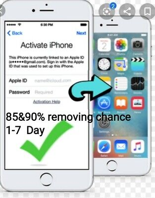 ACTIVATIONLOCK Removal SERVİCE 85%90%CLEAN 1to7DAYS🔐 SUPPORT ALL MODELS/İPAD'S
