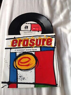 Erasure It Doesnt Have To Be Record