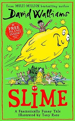 Slime: The new children's book by David Walliams New Hardback Book
