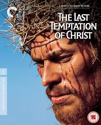 * The Last Temptation Of Christ (1988) Criterion Collection Blu Ray New/ Sealed*