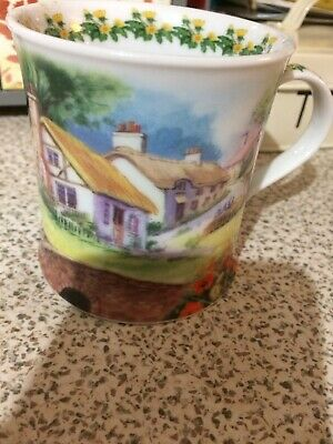 Cpuntry Cottage Mug By Ray Cresswel