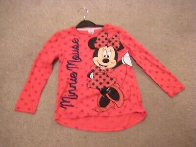 Girls Red Long Sleeved Top Age 6-7 Years from Tesco