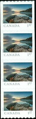 Canada sc#3150-3150i From Far and Wide 2019: Smoke Lake ON, Strip of 4, Mint-NH