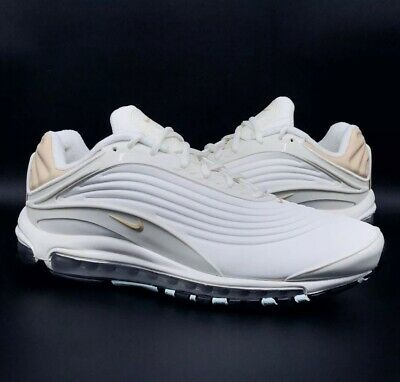 NIKE AIR MAX DELUXE SE Size UK 4 AT8692 001 Oil Grey Oil