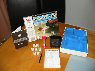 Vintage MB Games Word Yahtzee Educational Spelling Game Classic Family Fun Toy