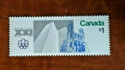 Canada 1976 #687 Olympic Sites 1$ single Mint VFNH