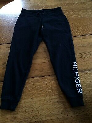 Tommy Hilfiger Women's Black Size Small S Jogger Pants Stretch