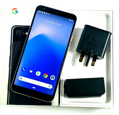 *MINT* Google Pixel 3a XL - 64GB - Clearly White (Unlocked) (Single SIM) 255