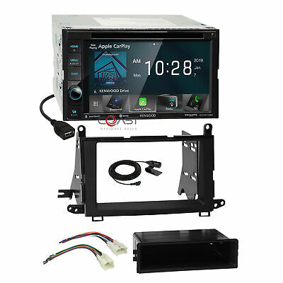 Kenwood DVD Maestro Sirius Carplay Stereo Dash Kit Harness for 09+ Toyota Venza