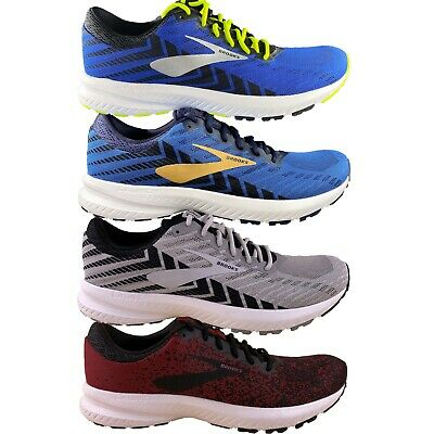 Men's Brooks Launch 6 Neutral Cushion Athletic Running Gym Shoes