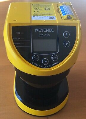 Keyence Corp Safety Scanner Sz-01S / Sz01S (Used Tested Cleaned)