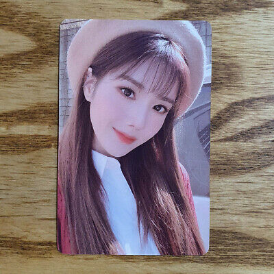 Kwon Eunbi Official Photocard IZ*ONE Secret Diary Spring Collection 2020