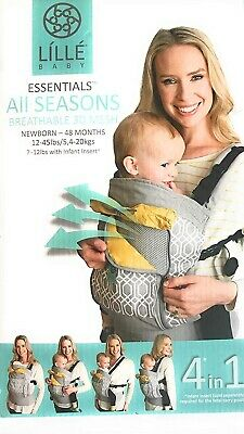 4 in 1 ESSENTIALS Lillie Baby Carrier LILLEbaby 3D mesh breathable Park Place