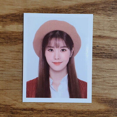 Kwon Eunbi Official ID Photocard IZ*ONE Secret Diary Spring Collection 2020