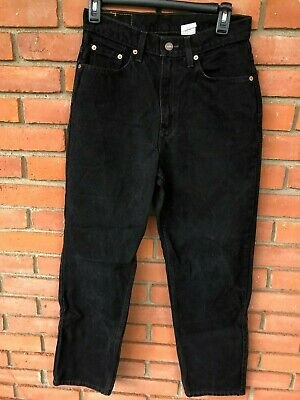 Vintage Levis Red Tab 512 Slim Fit Straight Leg High Rise Mom Jeans Size 8 Reg S