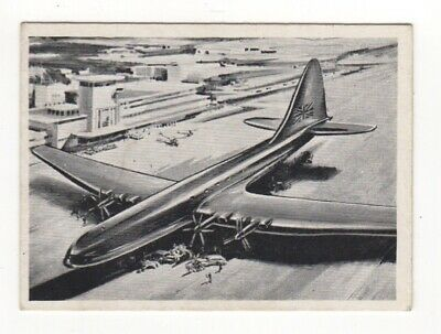 Wonders of the Air Comic Cards. Empire Airlines Bristol Brabazon