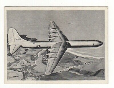 Wonders of the Air Comic Cards. USAF Vultee B.36